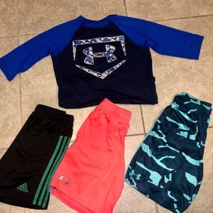 UnderArmour bundle size youth small